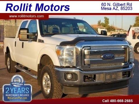 2015 Ford F-250 Super Duty for sale at Rollit Motors in Mesa AZ