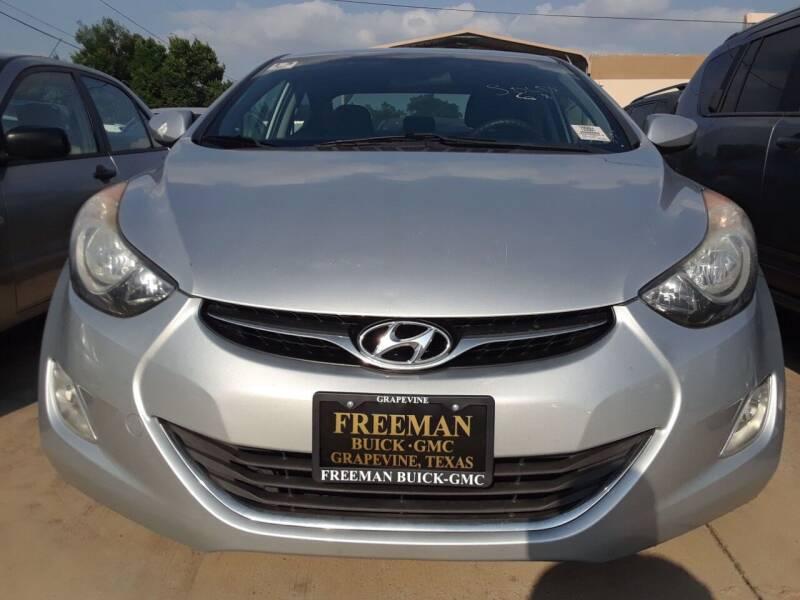 2013 Hyundai Elantra for sale at Auto Haus Imports in Grand Prairie TX