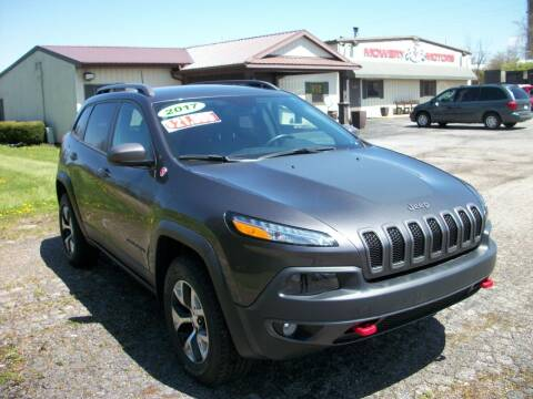 2017 Jeep Cherokee for sale at Terry Mowery Chrysler Jeep Dodge in Edison OH