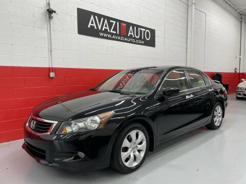2008 Honda Accord for sale at AVAZI AUTO GROUP LLC in Gaithersburg MD