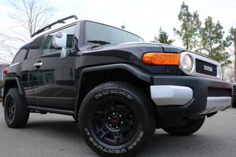 2007 Toyota FJ Cruiser for sale at Chantilly Auto Sales in Chantilly VA