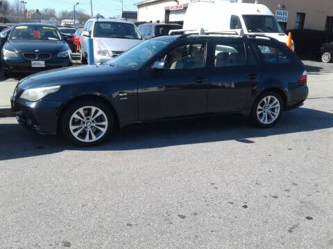 2009 BMW 5 Series for sale at Nelsons Auto Specialists in New Bedford MA