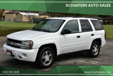 2008 Chevrolet TrailBlazer for sale at Schaefers Auto Sales in Victoria TX