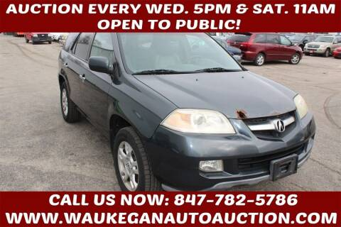 2006 Acura MDX for sale at Waukegan Auto Auction in Waukegan IL
