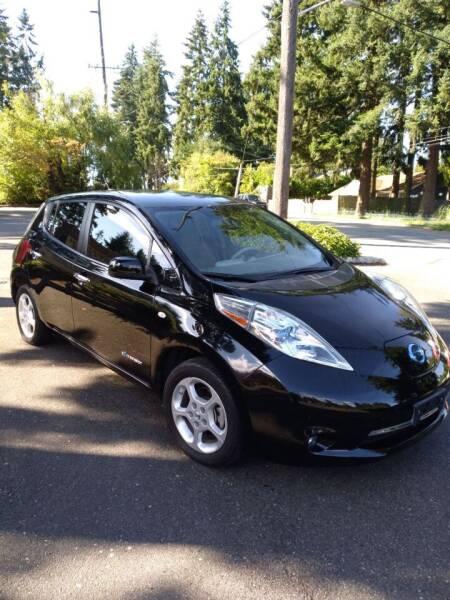 2012 Nissan LEAF for sale at Seattle Motorsports in Shoreline WA