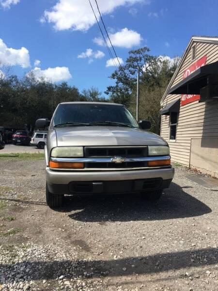 2003 Chevrolet S-10 for sale at DAVINA AUTO SALES in Orlando FL