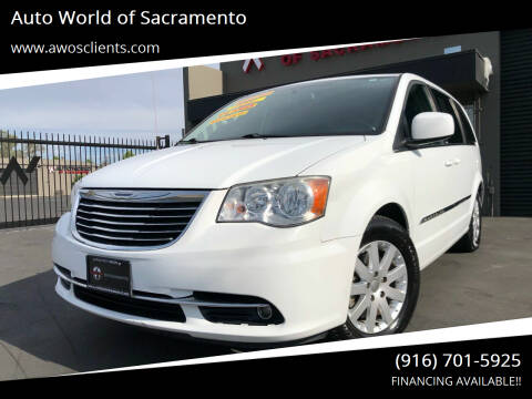 2014 Chrysler Town and Country for sale at Auto World of Sacramento Stockton Blvd in Sacramento CA