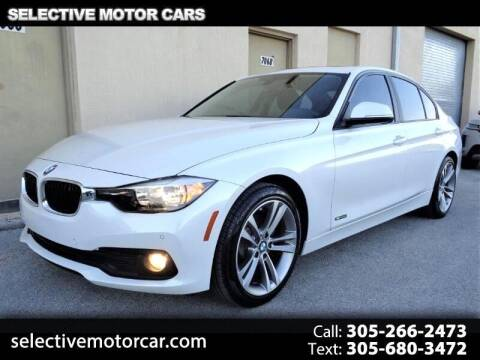 2017 BMW 3 Series for sale at Selective Motor Cars in Miami FL