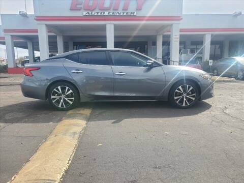 2018 Nissan Maxima for sale at EQUITY AUTO CENTER in Phoenix AZ