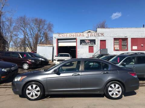 2009 Honda Accord for sale at Dan's Auto Sales and Repair LLC in East Hartford CT