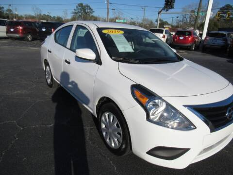 2019 Nissan Versa for sale at Maluda Auto Sales in Valdosta GA