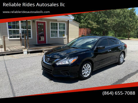 2016 Nissan Altima for sale at Reliable Rides Autosales llc in Greer SC