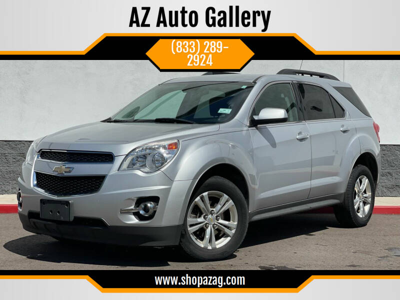 2012 Chevrolet Equinox for sale at AZ Auto Gallery in Mesa AZ