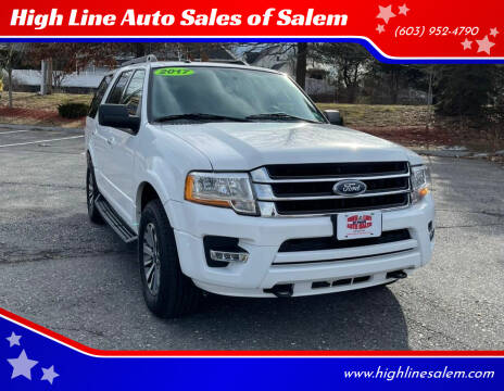2017 Ford Expedition for sale at High Line Auto Sales of Salem in Salem NH