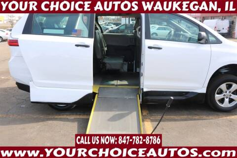 2016 Toyota Sienna for sale at Your Choice Autos - Waukegan in Waukegan IL