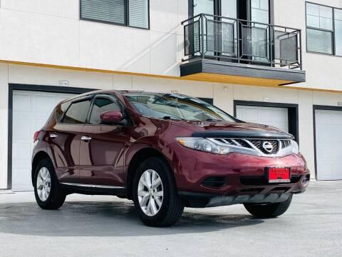 2012 Nissan Murano for sale at Avanesyan Motors in Orem UT