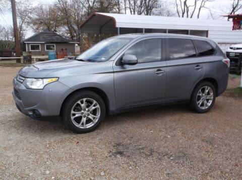 2014 Mitsubishi Outlander for sale at Smith Auto Finance LLC in Grand Saline TX