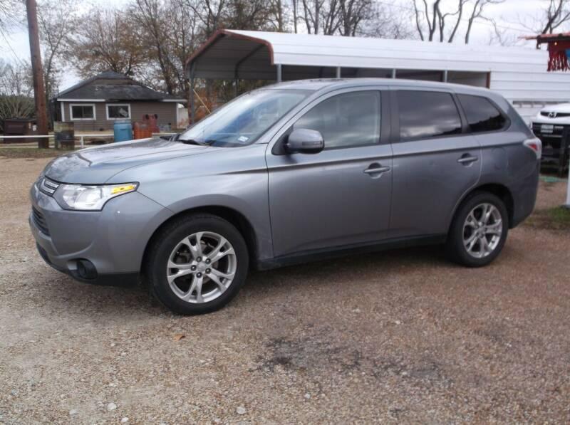 2014 Mitsubishi Outlander for sale at Smith Auto Finance LLC in Grand Saline TX