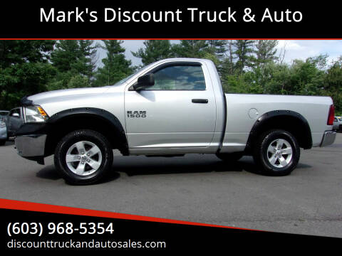 2015 RAM Ram Pickup 1500 for sale at Mark's Discount Truck & Auto in Londonderry NH
