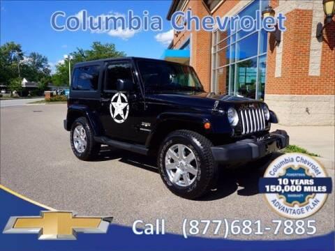 2016 Jeep Wrangler for sale at COLUMBIA CHEVROLET in Cincinnati OH