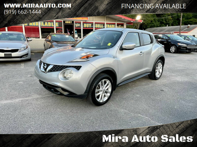 2015 Nissan JUKE for sale at Mira Auto Sales in Raleigh NC
