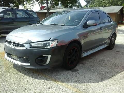 2016 Mitsubishi Lancer for sale at John 3:16 Motors in San Antonio TX