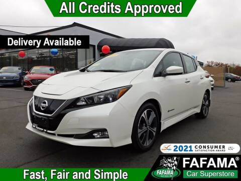 2018 Nissan LEAF for sale at FAFAMA AUTO SALES Inc in Milford MA