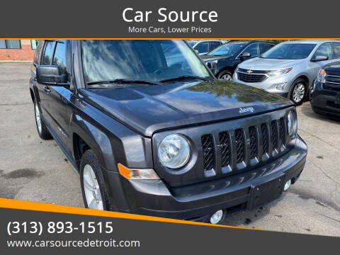 2017 Jeep Patriot for sale at Car Source in Detroit MI