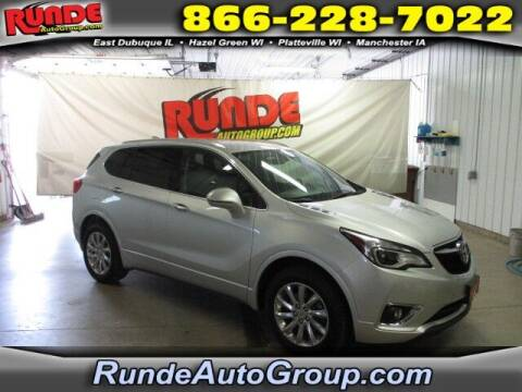 2019 Buick Envision for sale at Runde PreDriven in Hazel Green WI