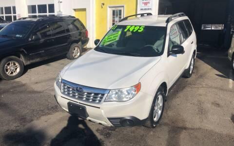 2011 Subaru Forester for sale at Washington Auto Repair in Washington NJ
