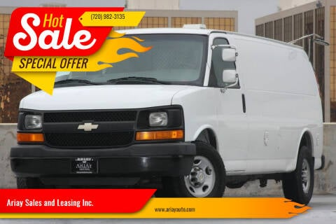2009 Chevrolet Express Cargo for sale at Ariay Sales and Leasing Inc. in Denver CO