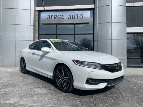 2016 Honda Accord for sale at Berge Auto in Orem UT
