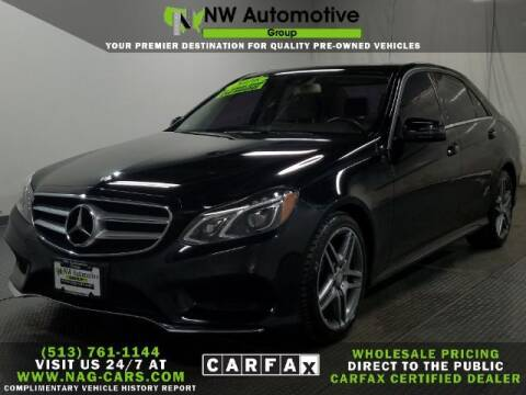 2016 Mercedes-Benz E-Class for sale at NW Automotive Group in Cincinnati OH