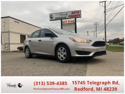 2016 Ford Focus for sale at The Family Auto Finance in Redford MI