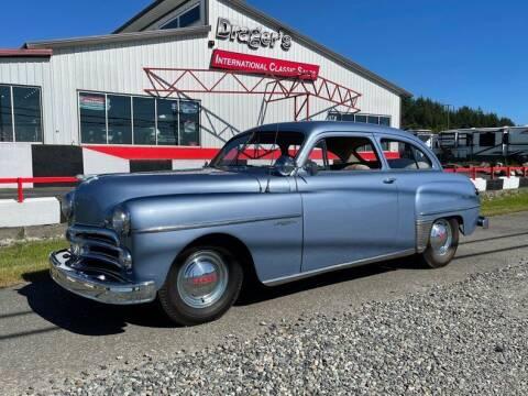 1950 Dodge Wayfarer for sale at Drager's International Classic Sales in Burlington WA
