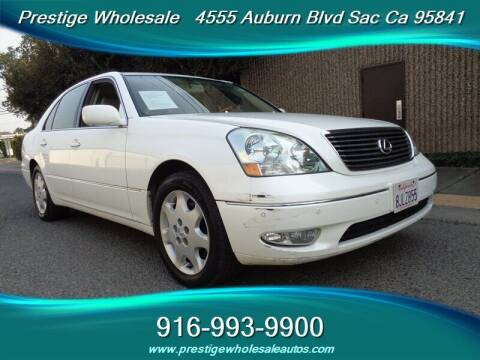 2003 Lexus LS 430 for sale at Prestige Wholesale in Sacramento CA