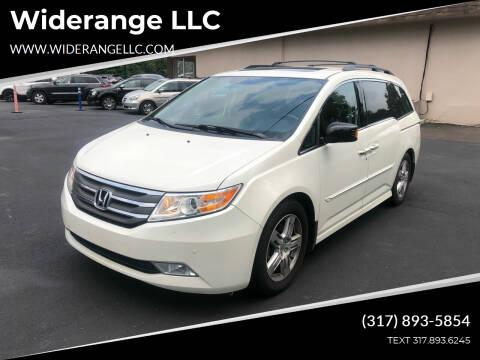 2013 Honda Odyssey for sale at Widerange LLC in Greenwood IN