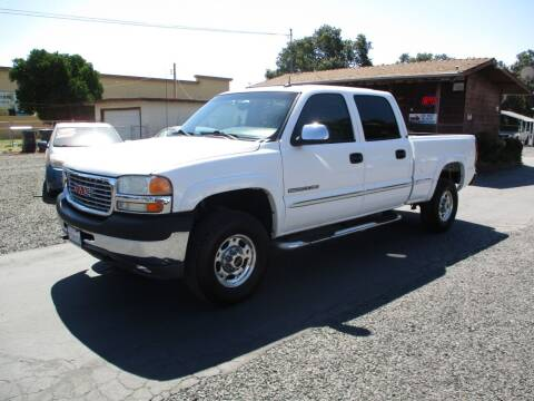 2002 GMC Sierra 2500HD for sale at Manzanita Car Sales in Gridley CA