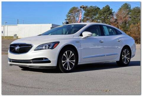 2017 Buick LaCrosse for sale at WHITE MOTORS INC in Roanoke Rapids NC