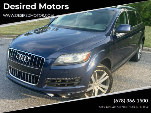 2014 Audi Q7 for sale at Desired Motors in Alpharetta GA