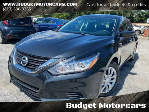 2016 Nissan Altima for sale at Budget Motorcars in Tampa FL