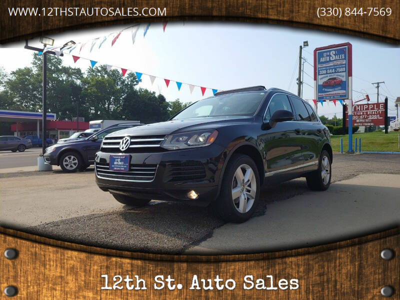 2014 Volkswagen Touareg for sale at 12th St. Auto Sales in Canton OH