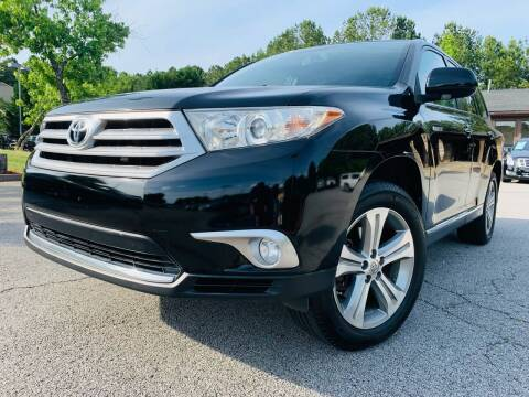 2011 Toyota Highlander for sale at Classic Luxury Motors in Buford GA