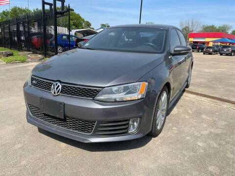 2012 Volkswagen Jetta for sale at Newsed Auto in Houston TX