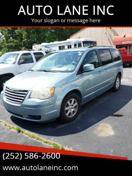 2010 Chrysler Town and Country for sale at AUTO LANE INC in Henrico NC