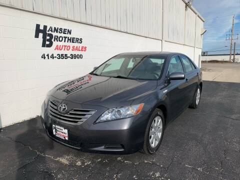 2008 Toyota Camry Hybrid for sale at HANSEN BROTHERS AUTO SALES in Milwaukee WI