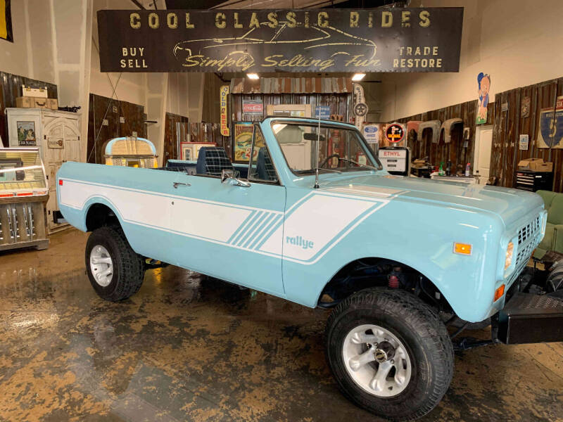 1980 International Scout II Rallye  4X4 for sale at Cool Classic Rides in Redmond OR