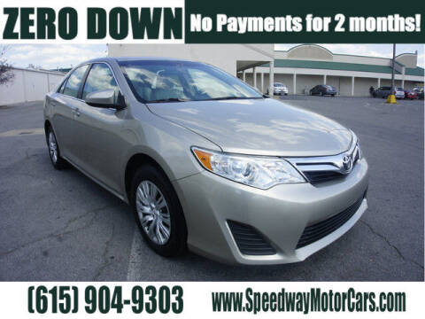 2013 Toyota Camry for sale at Speedway Motors in Murfreesboro TN