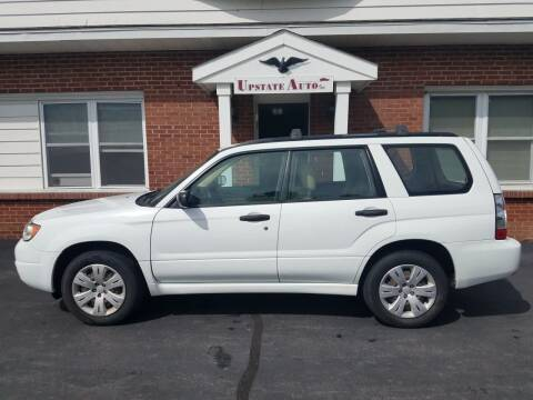 2008 Subaru Forester for sale at UPSTATE AUTO INC in Germantown NY