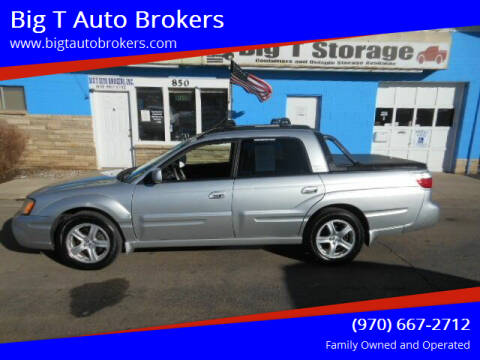 2003 Subaru Baja for sale at Big T Auto Brokers in Loveland CO